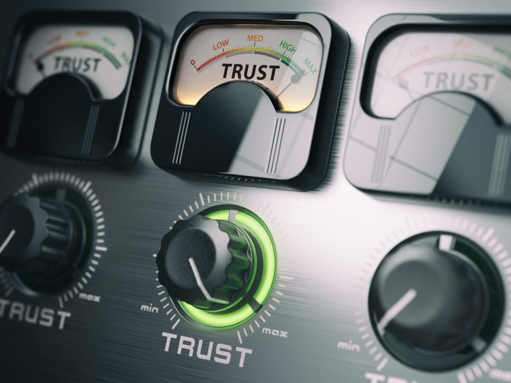Building trust for brands using tone of voice